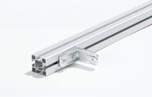 Aluminium 40x40 mm dakdragers